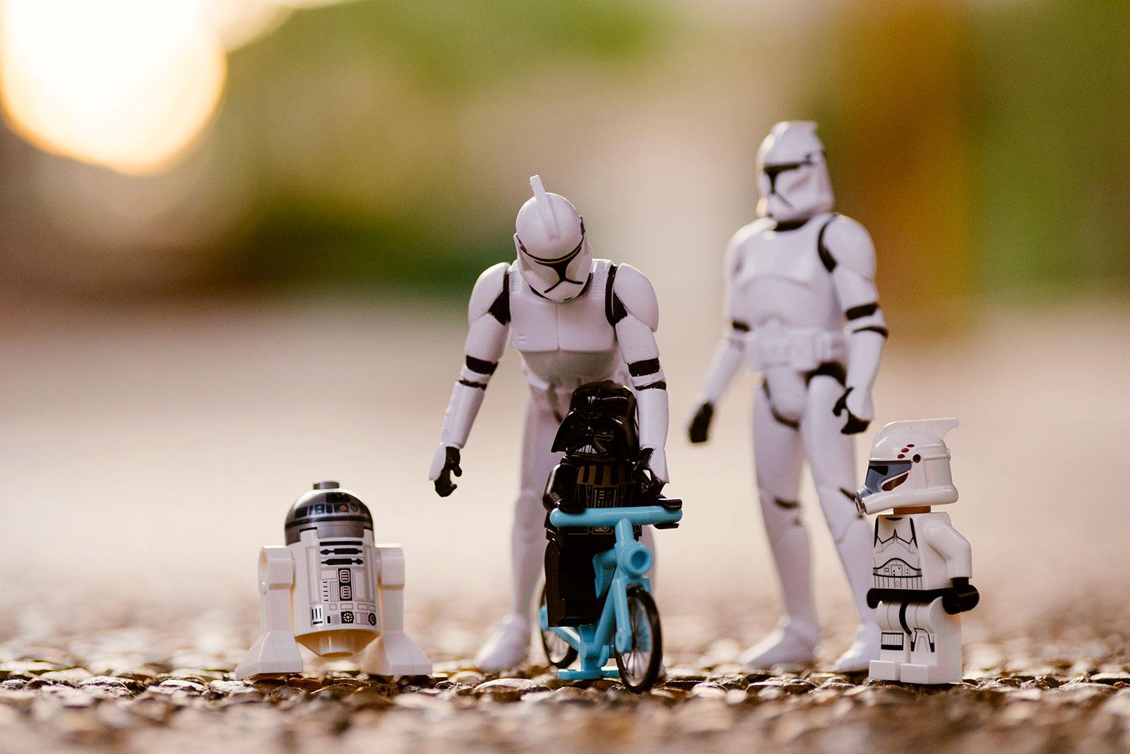 Bonecos da saga Star Wars